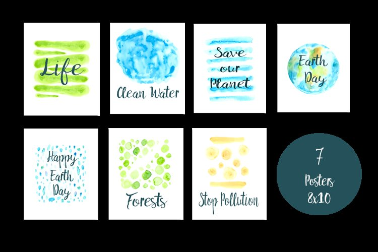 Earth Day Clip Art Set and Posters