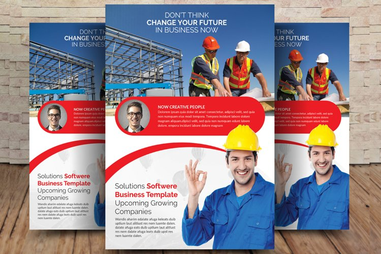 Construction Flyer Templates example image 1