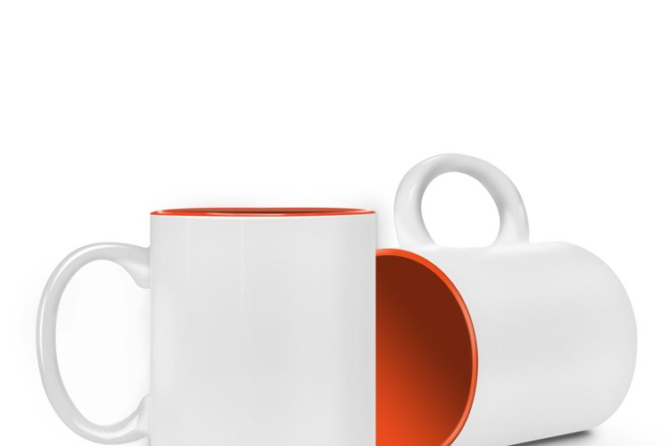 Cup Sublimation Mockup-Front-Down example image 1