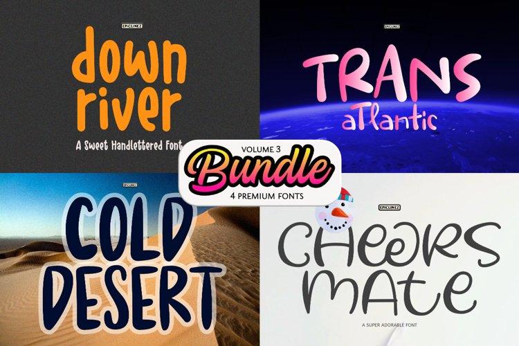Epic Bundle Vol 3| 4 Premium Fonts example image 1