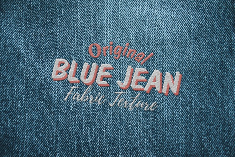 15 Denim Jean Fabric Textures JPG example 6