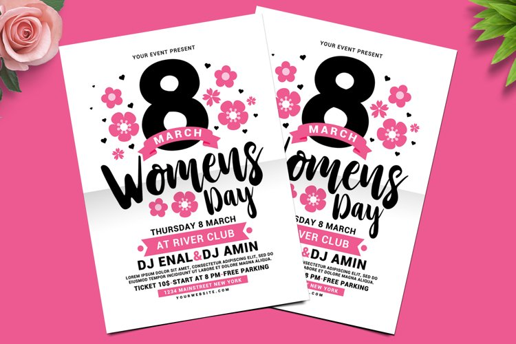 Womens Day Flyer example image 1