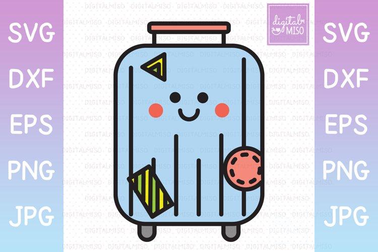 Luggage Color - Kawaii Vector Icons
