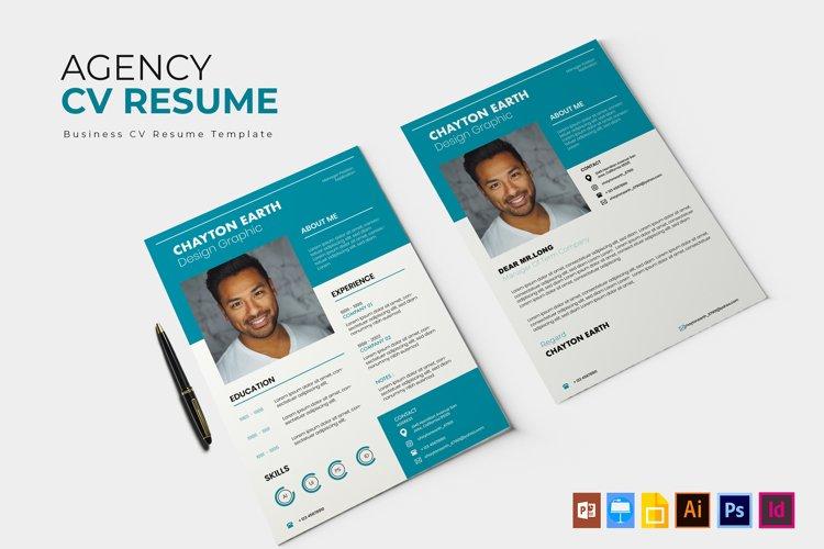 Agency | CV & Resume example image 1