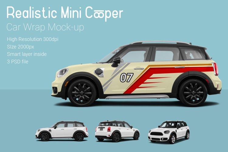 Mini Cooper Car Mock-Up