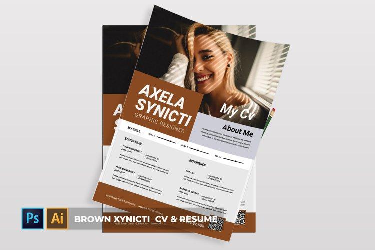 Brown Xynicti | CV & Resume example image 1