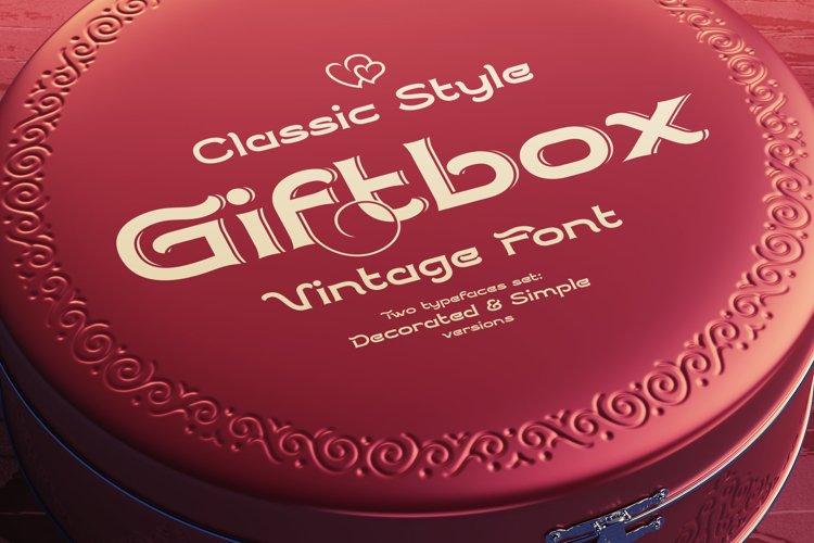 Giftbox Font example image 1