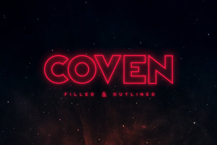 Coven Typeface example image 1