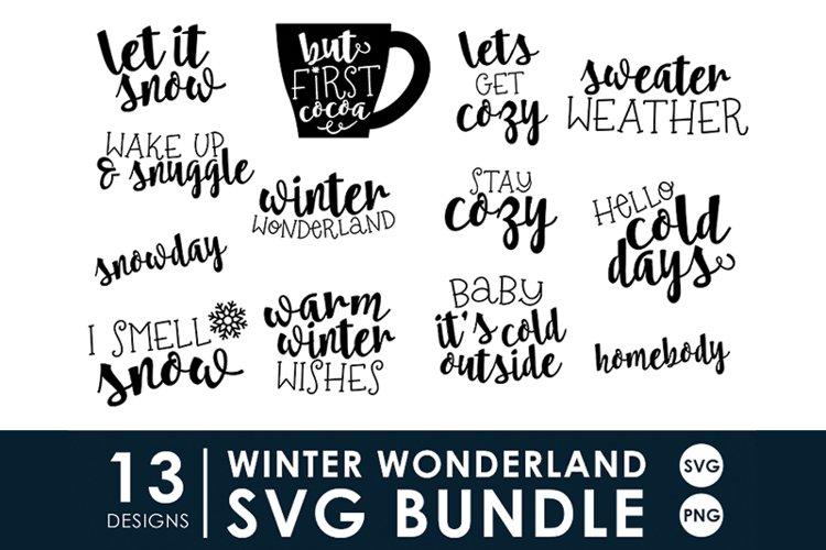 Winter Wonderland SVG Bundle