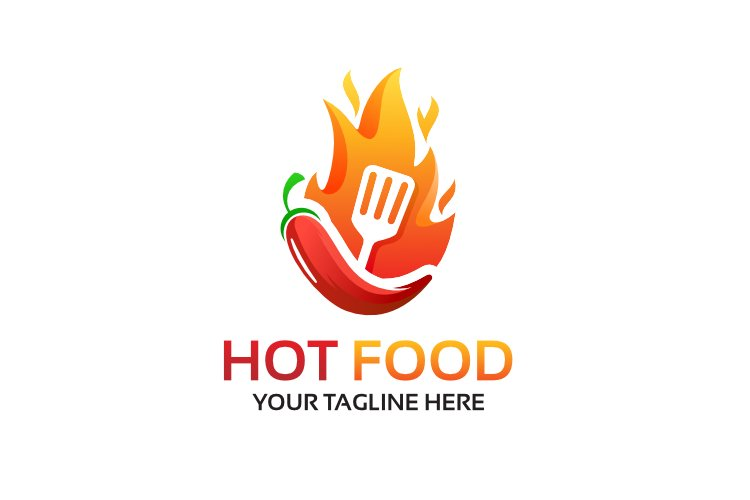 Hot Food Logo Design example image 1