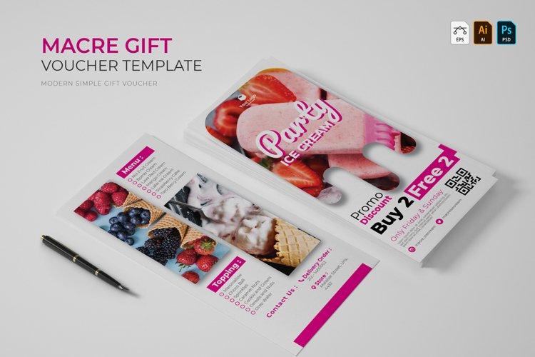 Macre | Gift Voucher example image 1