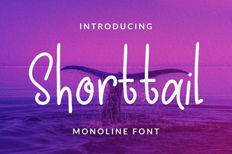 Web Font Shorttail Font example image 1