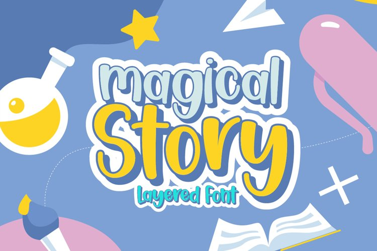 Magical Story - Handwritten Fonts example image 1