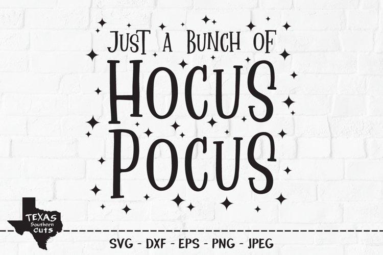 Hocus Pocus SVG, Cut File, Halloween Shirt Design, Stars example image 1