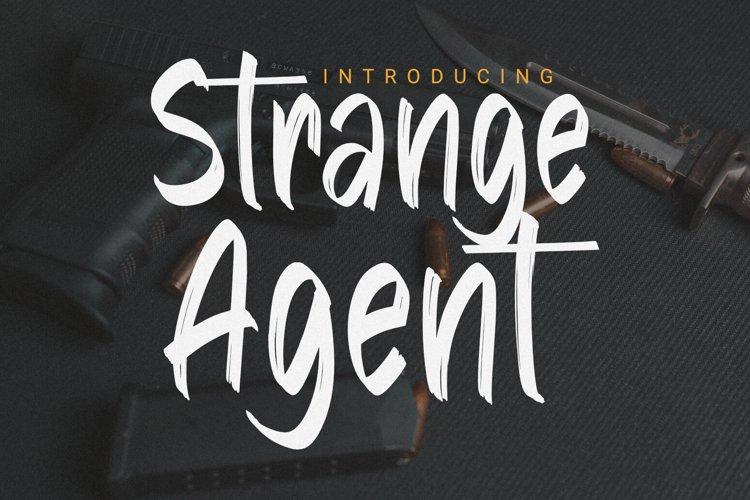 Strange Agent - Casual Brush
