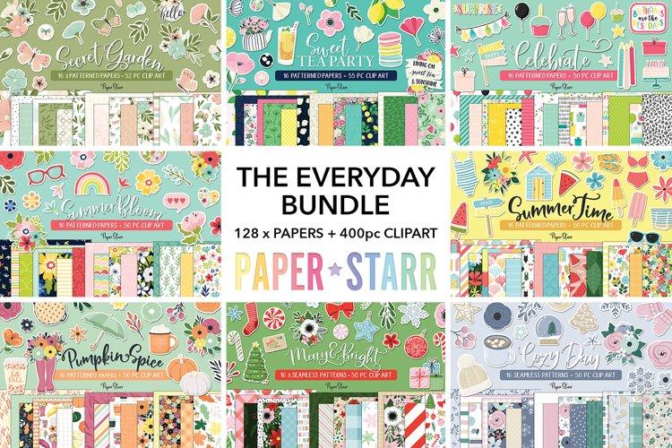 HUGE Digital Paper Clipart Bundle