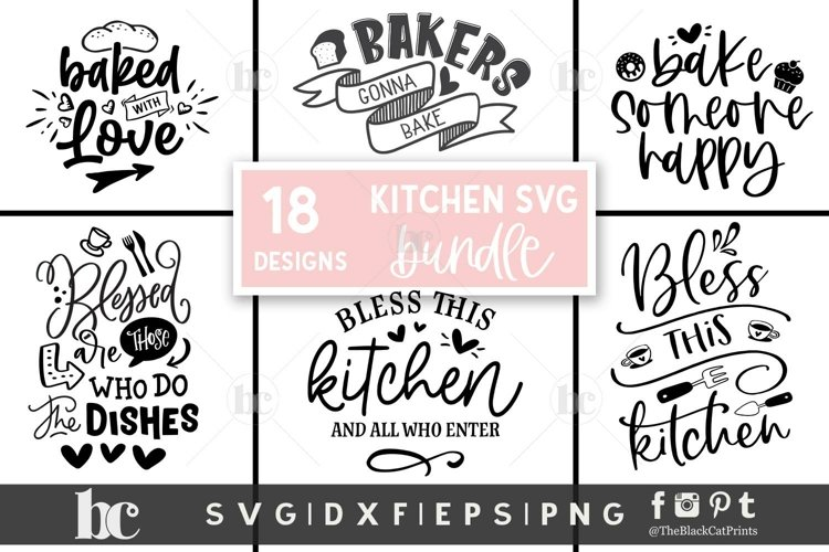 Kitchen SVG Bundle| Kitchen Bundle | Kitchen Quotes SVG