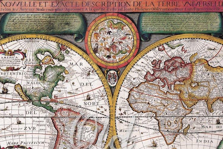 Old Maps Digital Paper - Free Design of The Week Design1