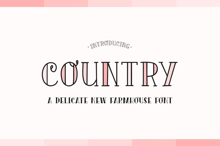 Country Font Duo example image 1