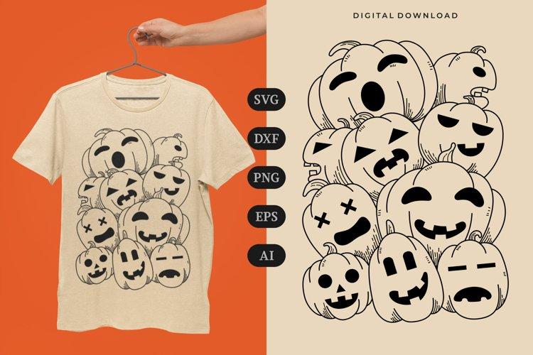 Halloween Doodle T-shirt   SVG