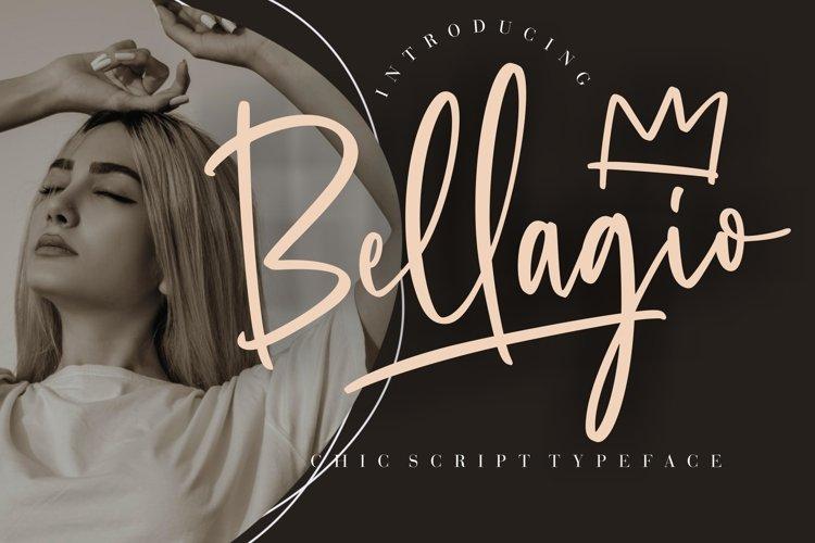Bellagio Chic Script Typeface example image 1