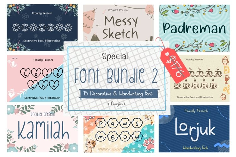 Special Font Bundle 2 example image 1