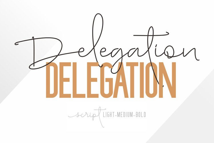 Delegation example image 1