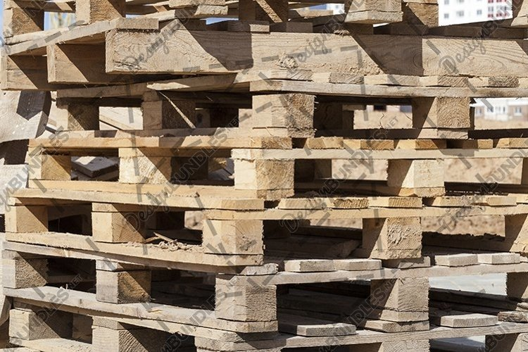 old wooden pallets example image 1