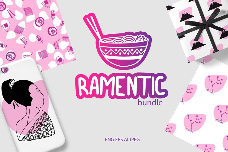 Ramentic bundle|Make your Japanese style example image 1