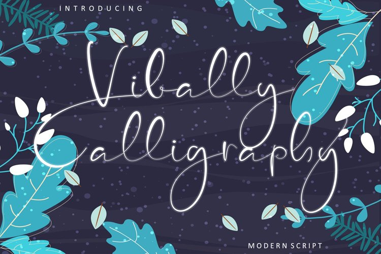 Vibally Calligraphy example image 1