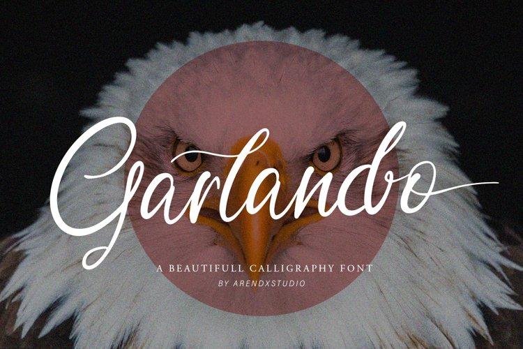 Garlando Font example image 1