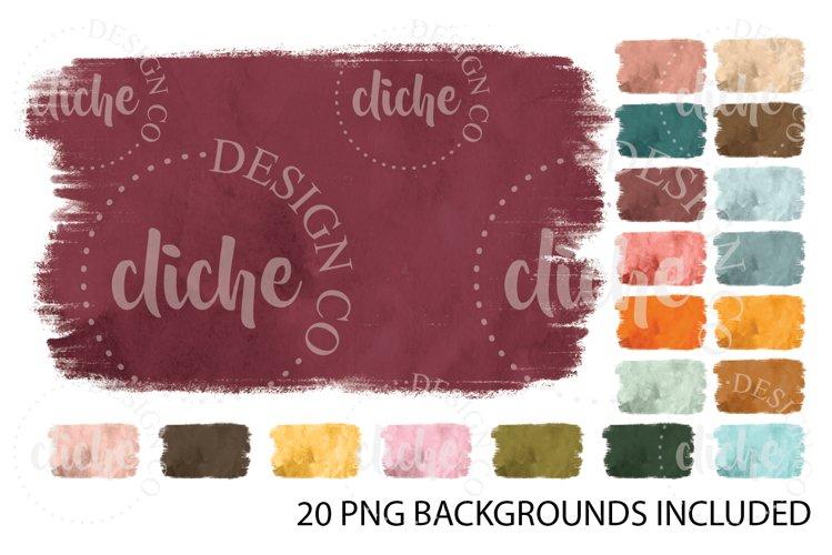 Fall Watercolor Sublimation Design Background Bundle
