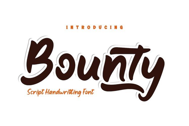 Bounty example image 1