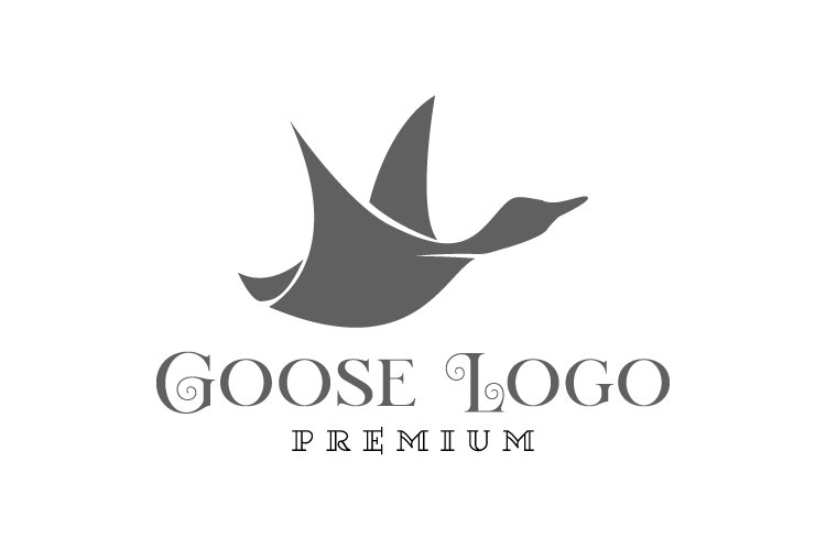 Goose logo template example image 1