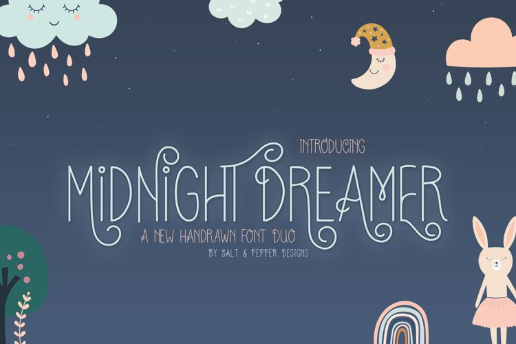 Midnight Dreamer Font example image 1