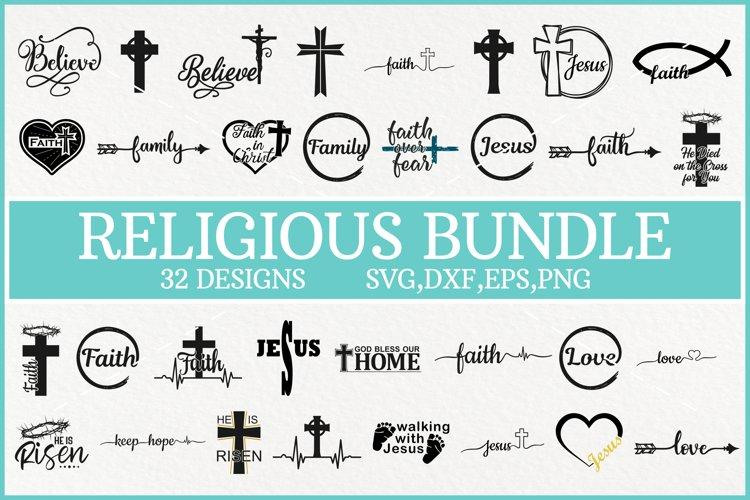 Religious Svg Bundle, Jesus Christ Svg, Faith Svg, Easter