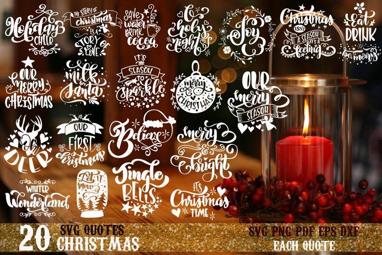 Christmas bundle svg Merry Christmas Winter svg vol 3 example image 1