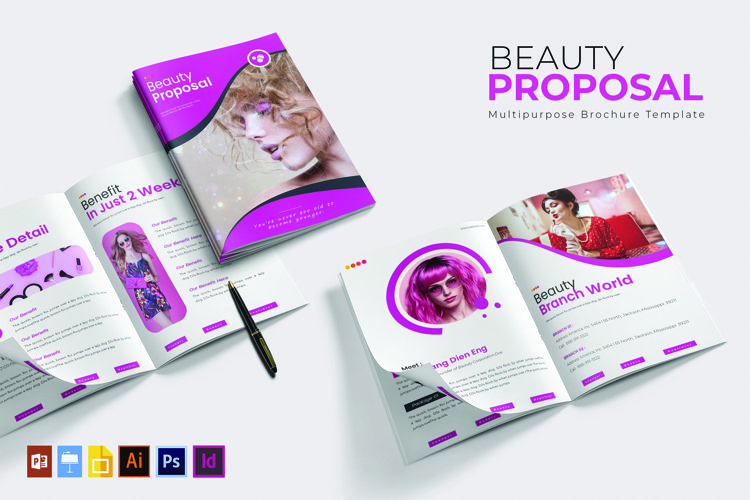 Beauty Inc | Proposal Template example image 1
