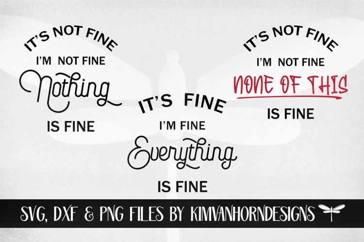 Its Fine, Im Fine, Everything is Fine Bundle