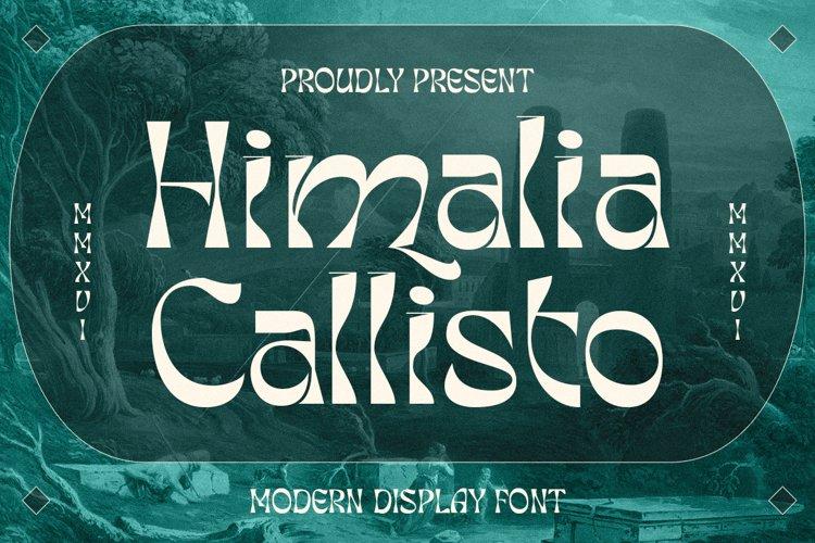 Himalia Callisto