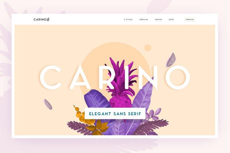 Carino - A Modern Elegant Typeface example image 1