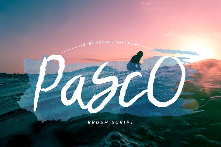 Pasco Font
