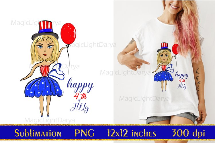 Happy 4th of July Sublimation,Independence Day,patriotic