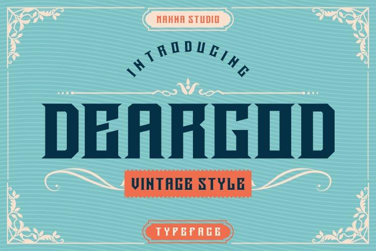 Deargod example image 1