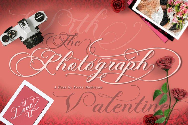 Photograph - Script Wedding Font example image 1