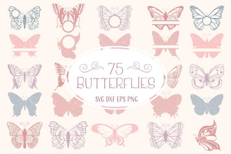 Butterfly SVG, Butterfly Monogram SVG Cut Files Bundle