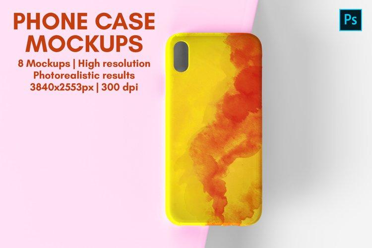 Phone Case Mockup - 8 Views example image 1