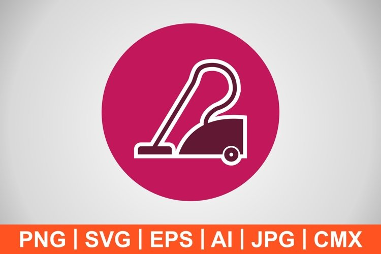 Vector Vacuum cleaner Icon example image 1