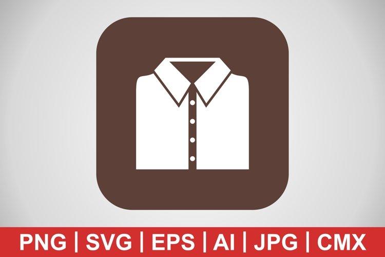Vector School Shirt Icon example image 1