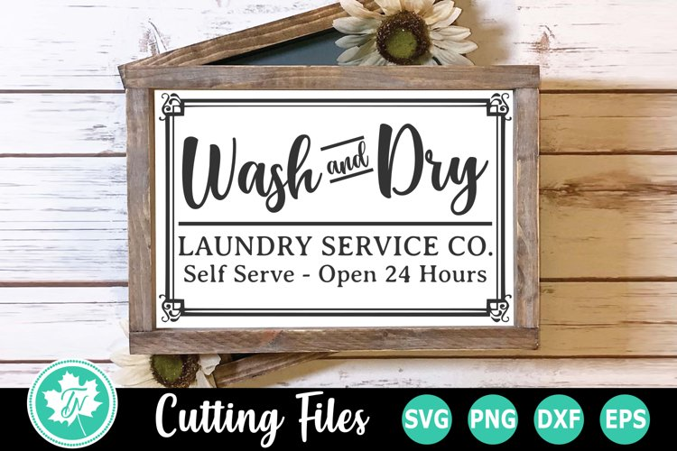 Laundry SVG | Laundry Room SVG | Wash and Dry